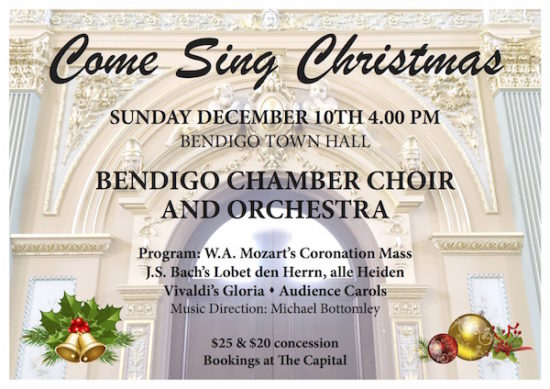 Chamber choir concert dec 2017
